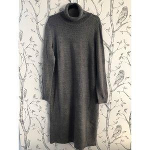 TU Grey Turtleneck Sweater Dress - 18